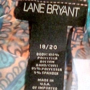 Lane Bryant Tops - Lane Bryant size 18/20 banded colorful tunic